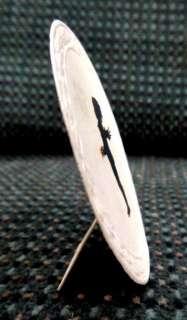 wonderful early victorian miniature paper cut with black scissors cut