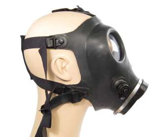 RUBBER INDUSTRIAL Black GASMASK Gas Mask Costume