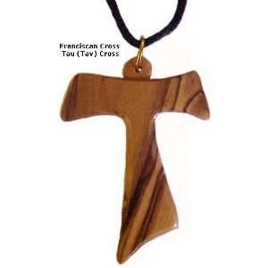 Tau (Tav)  Franciscan Cross Necklace 0.9 X 1 Home