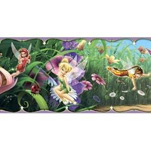 Border   Disney Tink Girls Room Wallpaper Border Home Improvement