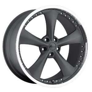 18x9 Bravado Americana II (Graphite w/ Machined Lip) Wheels/Rims 5x120
