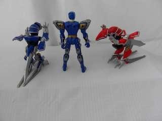 POWER RANGERS DINO THUNDER BLUE Quadro Battlized Figure