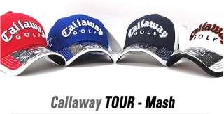 NEW Genuine CALLAWAY CG TOUR MESH ADJUSTABLE CAP HAT BLUE FT 5