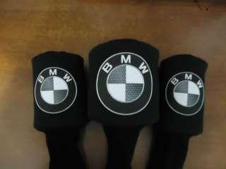 BMW car golf CLUB driver HEADCOVERS (set of 3)