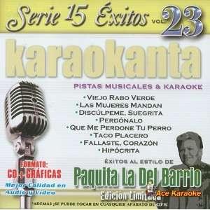 Karaokanta KAR 1523   Al Estilo de Paquita la del Barrio