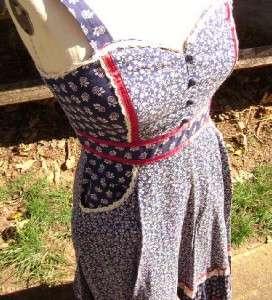 Sax by Jessica Boho Chic Corset Patchwork Prairie Maxi Dress