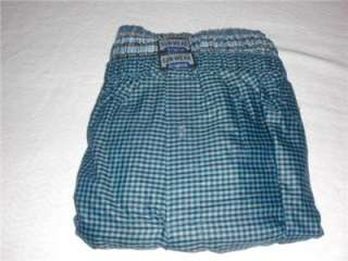 MENS PLAIDS BOXERS SHORTS UNDERWEAR ANY SIZE
