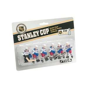Stiga New York Rangers Table Rod Hockey Players Sports