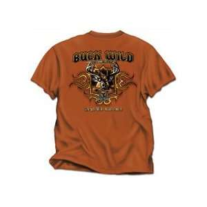 Buckwear Buck Wild Tex Orange Lg Md.# 1100 Lg Sports