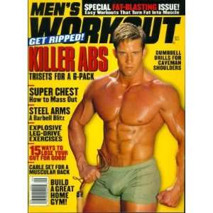 Mens Workout Magazine September 2002 Michael Catarevas