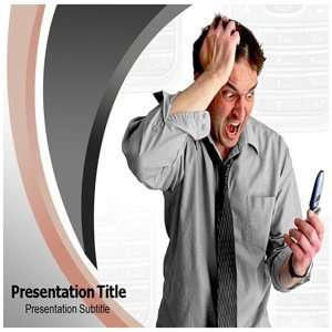 Mobile Bugging PowerPoint Template   Backgrounds PowerPoint Templates