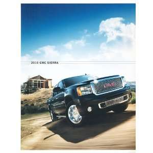 2010 GMC Truck Sierra Original Sales Brochure Everything