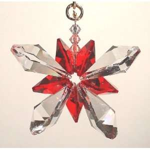 Swarovski Crystal Butterfly Ornament   Clear and Siam