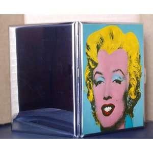 Cigarette Case ID Holder Wallet Marilyn Monroe Blue