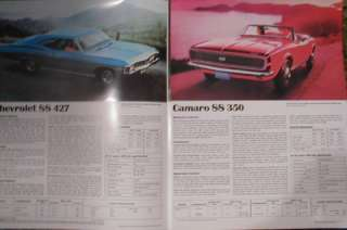 1967 Chevrolet Super Sports Sales Brochure 67
