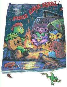 Grateful Dead T  Shirt VTG Style  1995 Summer Tour  LL Rain