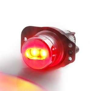 Super Bright 6W Red LED Angel Eye Head Light Headlamp Bulbs