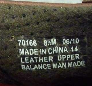 CLARKS ORIGINAL Mens 8.5 M Sport brown shoes leather lace comfort