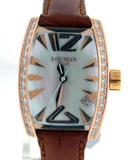 Locman Panorama 18k Rose $8,050.00 Ladies Diamond watch