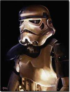 Star Wars Stormtrooper figure Limited Edition Print NEW