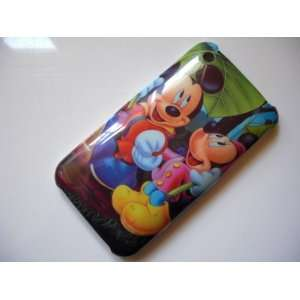 Mickey & Minnie Mouse Hard Cover Case iPhone 3G 3GS   Design #2 + Free
