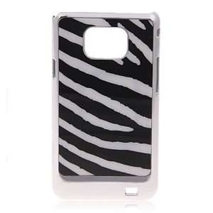 Zebra stripe Pattern Hard Plastic Case Cover for Samsung I9100 Galaxy