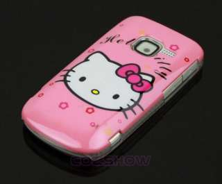 Pink Hello Kitty Cartoon Hard Case Cover for NOKIA C3 C3 00