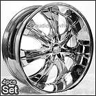 26 Wheels, Rims Chevy,Ford,Cadi​llac GMC QX56 F150,Ram