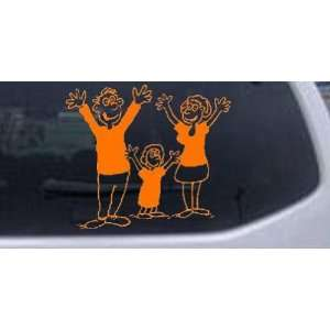 Mom Dad Daughter Family Decal Stick Family Car Window Wall