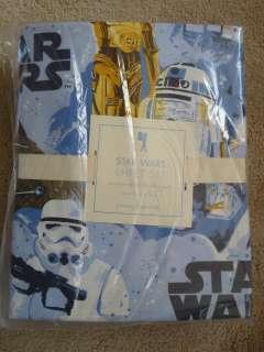 Pottery Barn Kids Star Wars A New Hope Sheets 3p Set TWIN Cotton NIP