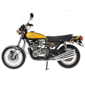 KAWASAKI 900 Z1 SUPER 4 1973 in GREEN/YELLOW Diecast Model