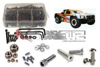 RC Screwz Stainless Steel Screw Set, Losi TEN SCTe 4WD