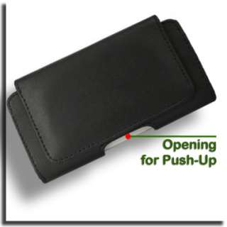 Genuine Leather Case for Nokia C3 Pouch Black Cover New