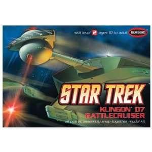 Polar Lights 1/1000 Star Trek Klingon D7 Battle Cruiser