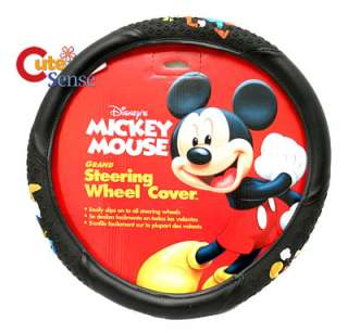 Mickey Mouse Steering Wheel Cover Car Auto Accesories