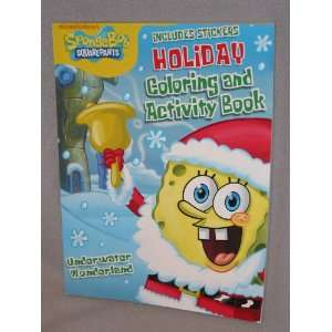 Spongebob Squarepants Holiday Colloring and Activity Book