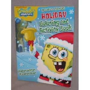 Spongebob Squarepants Holiday Colloring and Activity Book