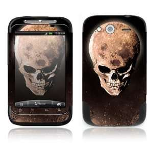 HTC WildFire S Decal Skin Sticker  Bad Moon Rising