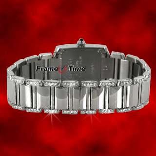 Cartier Tank Francaise Lady Full Diamond Watch W51008Q3