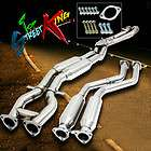Cooper S 02 06 T304 Stainless Steel Complete Catback Exhaust System