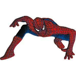 Spiderman Figure Marvel Comics Embroidered Iron On Patch