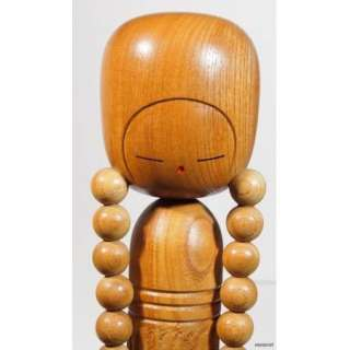 JAPANESE SOSAKU KOKESHI DOLL BRAIDED HAIR by AIDA HARUMINE