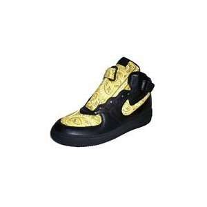 Bandana Fever : Custom Nike Air Force One Mid Top (Black/Yellow