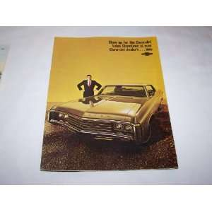 Car Brochure (Chevrolet Caprice, Impala, Chevelle, Camaro, Nova, and