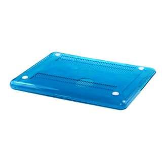 AQUA BLUE Crystal Hard Case Cover for Macbook White 13/13.3 inc