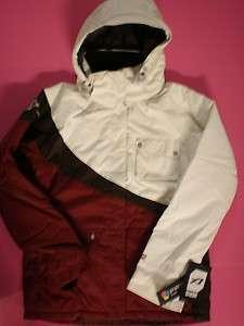 Orage Fia Burgundy Girls Snow Ski Jacket Coat Size 10 Medium $150