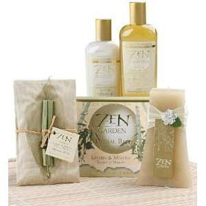 Zen Garden Bath Ensemble Gift Basket  Grocery & Gourmet