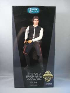Sideshow Exclusive Star Wars HAN SOLO SMUGGLER 1/6 Scale 12 Figure
