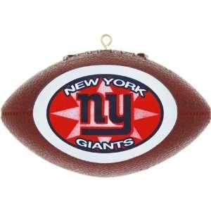 New York Giants Mini Replica Football Christmas Tree