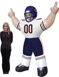CHICAGO BEARS NFL Mascot Blow Up Lawn Yard Player